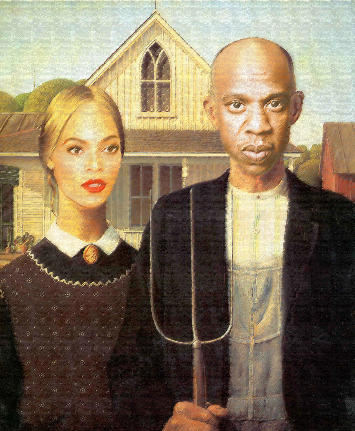 Going Viral Beyonce And Jay Z In Famous Artwork The Carter